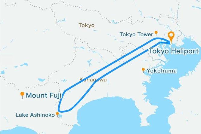 [70 Minutes] Tokyo-Mt.Fuji Tour: Mt. Fuji Helicopter Tour, Tokyo, JAPON