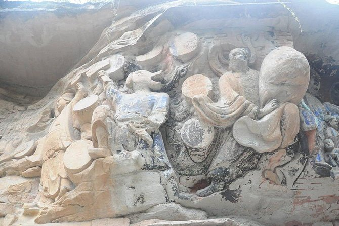 Dazu rock carving, Chongqing, CHINA