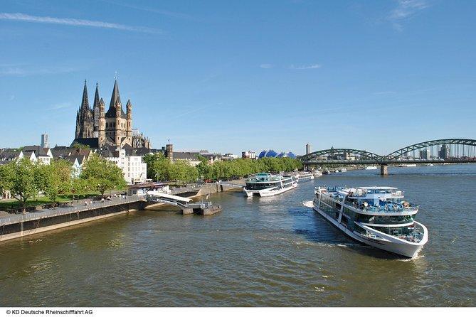 Recorrido panorámico de ida y vuelta en Colonia, Colonia, ALEMANIA