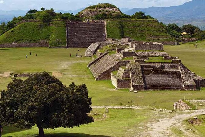 Ideal for travelers who want to enjoy the most importat touristic attractions from Oaxaca in two days. <br><br>Monte Alban and Mitla are the main arqueological sites in Oaxaca, both sites are the most visited by Oaxaca visitors. <br><br>With this combo, in two consecutive days you will enjoy following tours:<br><br>>> Monte Alban Route to visit the archeological site, then, the artisan village of Arrazola (handcraft Alebrijes), continue to Exconvent of Culiapam and San Bartolo Coyotepec (black pottery)<br><br>>> Mitla Route, visit the Tule Tree, Teotitlan del Valle (wool carpets), Mitla Arqueological site, Hieve el Agua (salt-water petrified cascade) and Mezcal Factory.<br><br>You will be added to a small group of tourists, usually up to 14 persons, neverhteless, on high seasons our groups might become bigger. This tour is operated in spanish and english.<br><br>We will pick you up at your hotel's lobby between 9:45 to 10:00 AM.