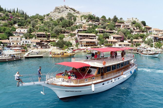Deluxe Sunken City Boat Tour From Kas with Guide Incl.Lunch, Kas, Turkey