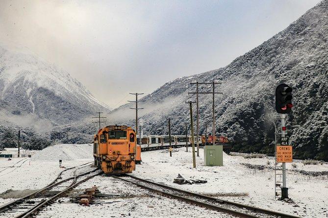 Passe de trem TranzAlpine de Christchurch até Greymouth, Christchurch, NOVA ZELÂNDIA
