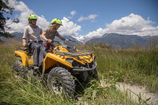 Adventure Quad Bike Tour, Glaciares Franz Josef y Fox, NUEVA ZELANDIA