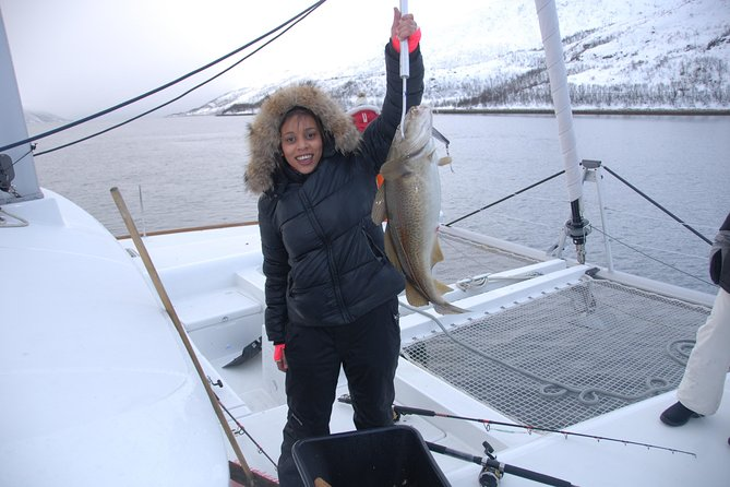 Fishing Trip with Luxury Catamaran in Tromso, Tromso, NORUEGA