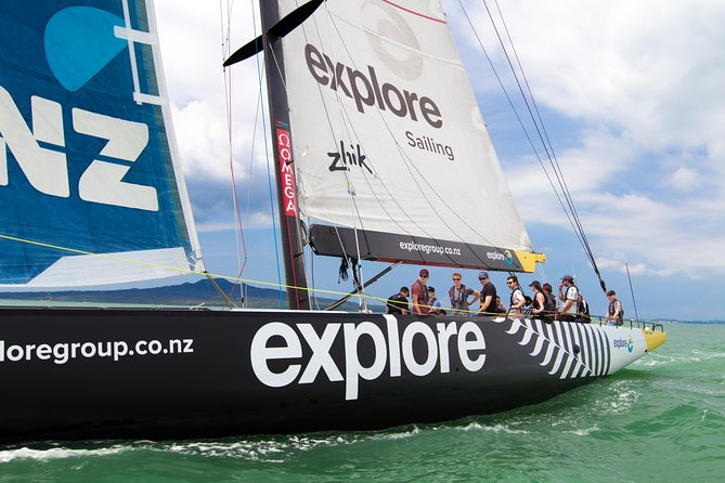 America's Cup Sailing on Auckland's Waitemata Harbour, Auckland, New Zealand