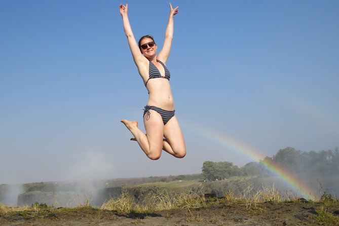 Devils Pool / Angels Armchair - Livingstone Island Breakfast Tour, Livingstone, ZIMBABUE