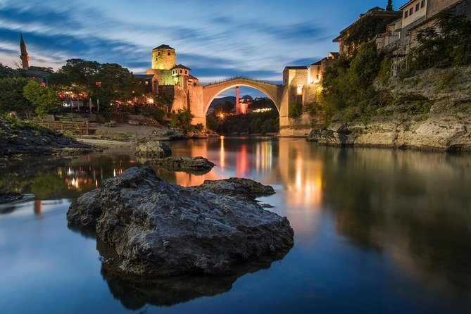 See the most beautiful and historical cities of Herzegovina in one day on this tour from Sarajevo. You'll get to enjoy in the atmosphere of Konjic, Jablanica, Počitelj, and Blagaj, with UNESCO World Heritage Site of Mostar at the end to fulfill your Herzegovina adventure. Learn some interesting facts and stories about history and locals while being completely comfortable.