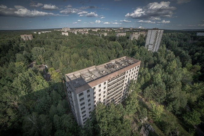 "The price includes:<br>— Full visit to Chernobyl exclusion zone<br>— Transport support<br>— Organization of permits required to visit Zone<br>— Permissive documentation required for a visit 30km zone<br>— Permissive documentation required for a visit 10km zone<br>— Permissive documentation required for a visit the city of Pripyat<br>— Permissive documentation required for a visit (OTH) radar station ""Duga""<br>— Professional guide in English<br>— Permission for the photo and video shooting"