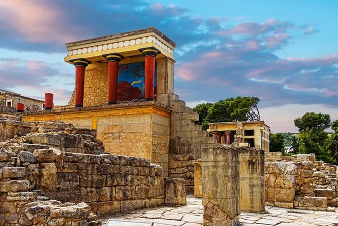 Enjoy a full day excursion from Chania to the heart of Minoan Crete. Visit the magnificent palaces of Knossos and the Archaeological Museum. Explore the historic Heraklion City downtown area with its medieval monuments and Koules Fortress or enjoy its many shops, cafes and restaurants.