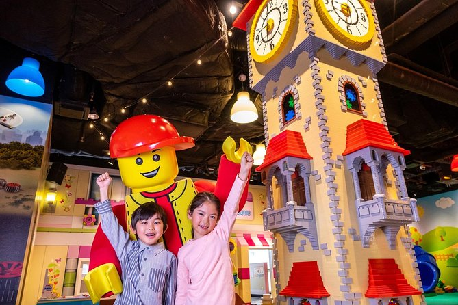 Venture into LEGOLAND® Discovery Center Osaka, which is surrounded by over 3million LEGO® bricks. Learn how to make special LEGO® creations or an enormous diorama. Journey intoLEGOLAND with family and friends to experience a theme park filled with hands-on attractions. Watch a 4D cinema with special-effects or tour the brick factory. This tour includes a general admission ticket, Cinema 4D Experience, all rides and attractions.