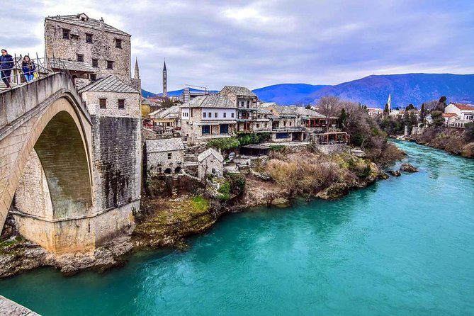 Bosnia and Hercegovina<br>Description:<br>In this tour you will meet with the neighboring country of Montenegro, Bosnia and Herzegovina, will visit two cities - Trebinje and Mostar. In just one day, you can see the Orthodox shrines of Trebinia (the monasteries of Tvrdosh and Hercegovachka Gracanica) and the old Muslim city of Mostar with the famous bridge over the Neretva River, which is now protected by UNESCO, and enjoy beautiful panoramic views, try the national Bosnian cuisine, taste the monastic wines , learn the history and culture of the three peoples and much more.<br>
