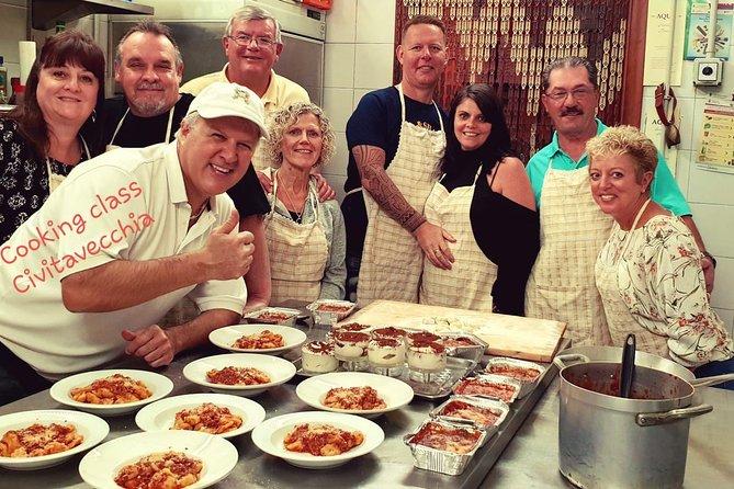 Cooking Class in Civitavecchia, Lago Bracciano, ITALIA