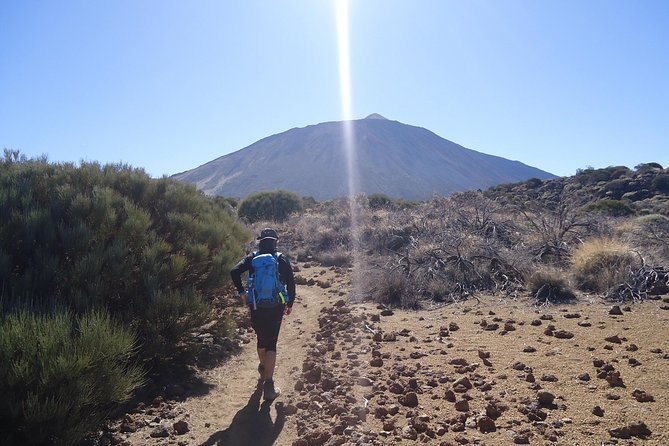 Walking on the moon around Teide, Tenerife, ESPAÑA