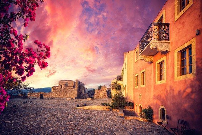 Monemvasia Castle from Nafplion, Corinto, GRECIA