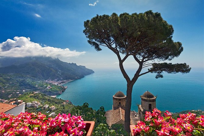 Tour option designed for all the guests who wish to fully enjoy the amazing scenery of the Amalfi Coast.<br><br>Combination of history, beauty, art, traditions and gastronomy.<br><br>Don't forget your camera!<br><br>Highlights:<br><br>The Amalfi Drive, with stops along the way at the best view spots for pictures.<br><br>Amalfi, ancient maritime republic, one of the most popular seaside resorts in Italy. Take some time to wander along the narrow streets of the town, to the Piazza del Duomo and the Cathedral of St. Andrew with its many decorative styles.<br><br>Ravello, a rural village unspoilt by tourism, perched on top of the mountain cliff above Amalfi and Minori. Famous for its breathtaking views, Villa Cimbrone and Villa Rufolo.<br><br>Time for lunch off the beaten path at a local family run restaurant.