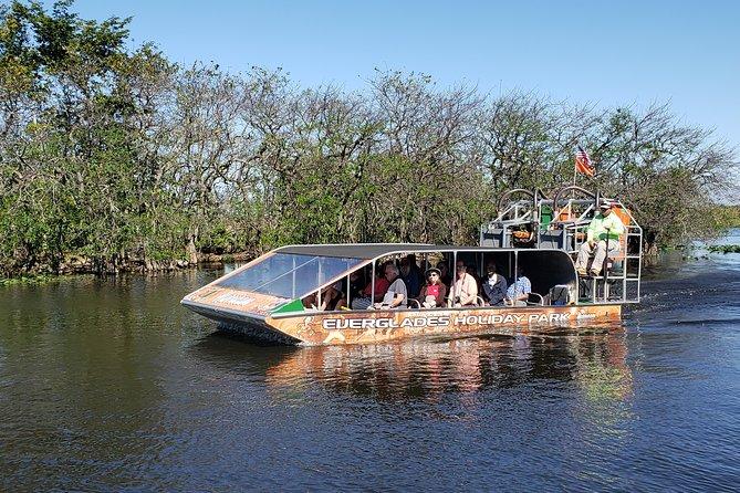 Excursión en hidrodeslizador a Everglades de Florida y espectáculo con caimanes desde Fort Lauderdale, Fort Lauderdale, FL, ESTADOS UNIDOS