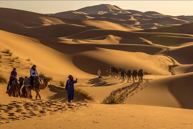 Private Merzouga Desert Tour in luxury camp from Marrakech, Marrakech, Morocco City, Morocco