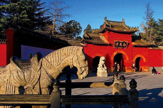 Private day tour to Longmen grottoes White house temple and Luoyang old town, Luoyang, CHINA
