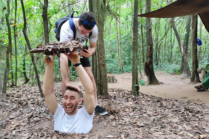 Private Half Day Authentic Cu Chi Tunnel Tour, Ho Chi Minh, Vietnam