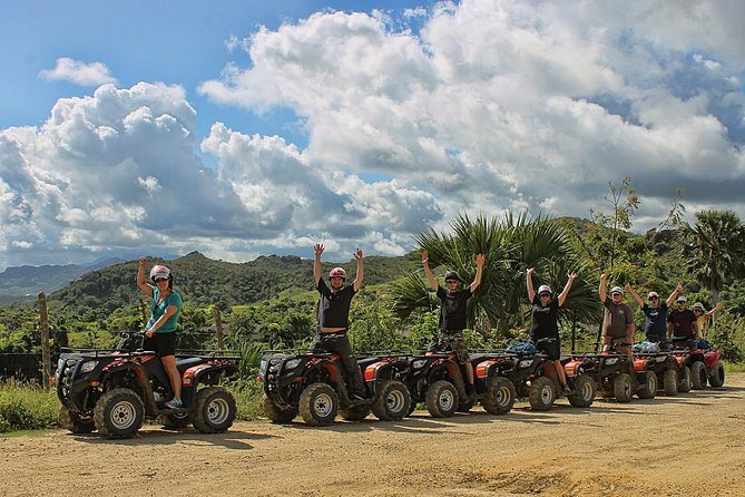 Drive your own ATV through the small villages, following a meandering road to the beach. Make a stop at a cigar shack where you learn about cigars, sample local organic chocolate and coffee. With all the instruction and equipment included, even beginners can learn how to drive a ATV. <br>This is a half day of fun for those looking for a tour to see the natural beauty of the Dominican Republic. <br>Enjoy amazing scenery, muddy paths and a picturesque beach.<br>