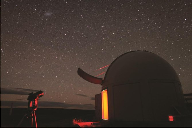 Crater Experience at Cowan's Observatory, Canterbury, New Zealand