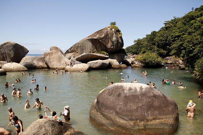 Excursión al pueblo de pescadores de Trindade, Paseo por la playa y esnórquel desde Paraty, Paraty, BRASIL