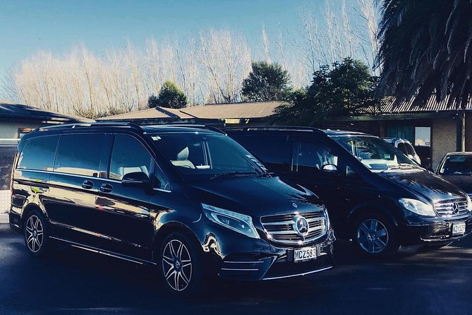 TRANZALPINE MERCEDES EXECUTIVE VAN - Rail to Christchurch Hotel 1 - 5 Passengers, Christchurch, NOVA ZELÂNDIA