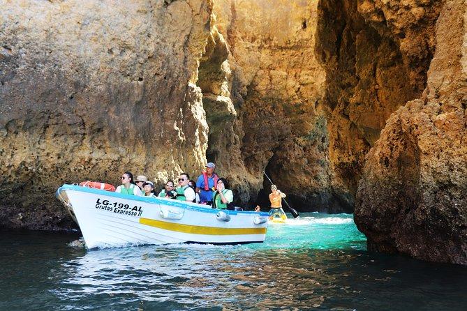 Cruzeiro na costa de Lagos e visita às grutas da Ponta da Piedade, Lagos, PORTUGAL