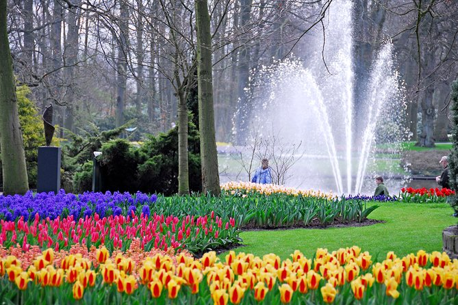 Guided Half-Day Trip from Amsterdam to the Keukenhof Gardens + Flower Fields, Amsterdam, HOLANDA