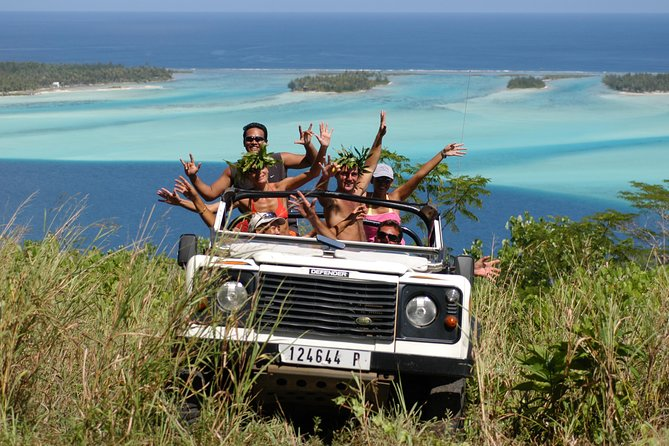 """Tupuna Safari will show you Bora Bora that you will never forget!<br>- The antenna point of view<br>-The guns of the second world war<br>-The mount popoti """" 360 ° viewpoint """"<br>-the valley of Faanui"""