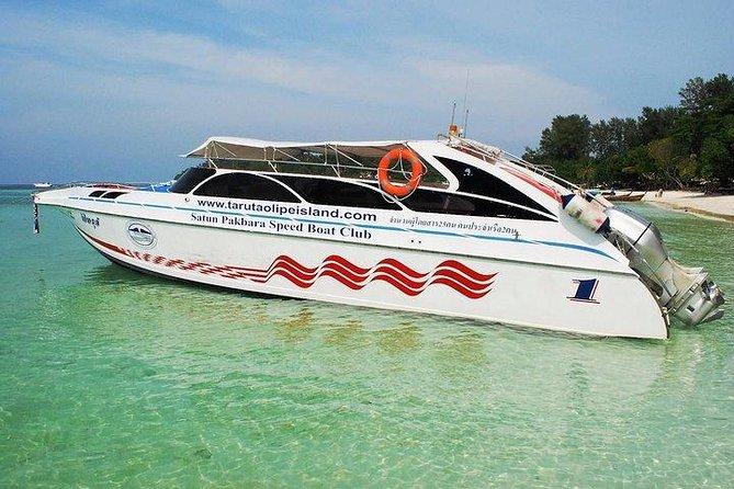 MAIS FOTOS, Hat Yai Airport to Koh Lipe by Minivan and Satun Pakbara Speed Boat