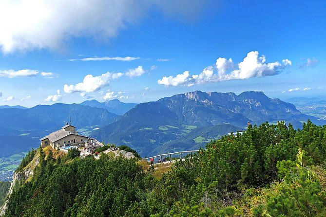 This private 8-hour tour will show you the highlights of the Bavarian Mountains. Your private driver-guide will take you to the very best of Bavarian Mountains with its world famous attractions, such as the Eagle's Nest (or Rossfeld summit), the salt mines, the town of Berchtesgaden and Kingslake (Koenigssee).<br><br>From about Nov to April (depends on the snow condition of the year), the Eagle's Nest direct access road is closed, alternatively we offer to visit the Rossfeld summit instead. From this vantage point, soak in panoramic views of the stunning Austrian and Bavarian Alps and the nearby Eagle's Nest. Feel free to choose this option also when Eagle's Nest is opened if you prefer a much less crowded, more local site than the Eagle's Nest.