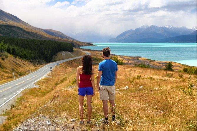 Excursión de un día completo de Queenstown a Christchurch a través del Monte Cook, Queenstown, NUEVA ZELANDIA
