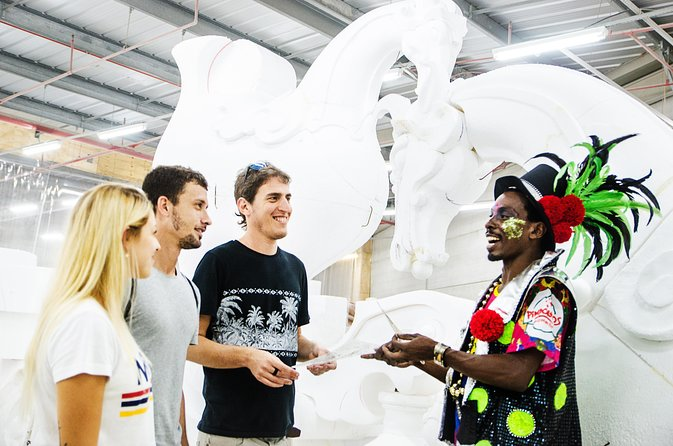 Explore the backstage of rio's carnival and samba, Rio de Janeiro, BRASIL