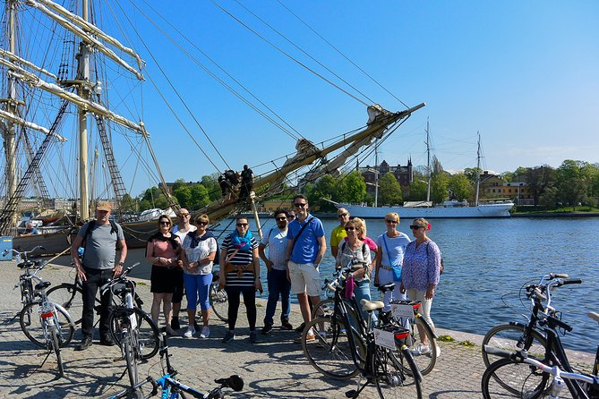 Explore Stockholm and her beautiful central islands on two wheels on this 3-hour bike tour! Hop on your supplied, easy-to-ride bike and follow your guide around some of the Swedish capital's famous sights and hidden gems, many of the latter inaccessible to cars and buses. Follow some of thecity's extensive cycle paths; pedal around Gamla Stan (Old Town); and cross bridges to roam idyllic islands and pretty shores. Add fascinating commentary from your guide and there's no better way to get oriented inthe 'Venice of the North!'