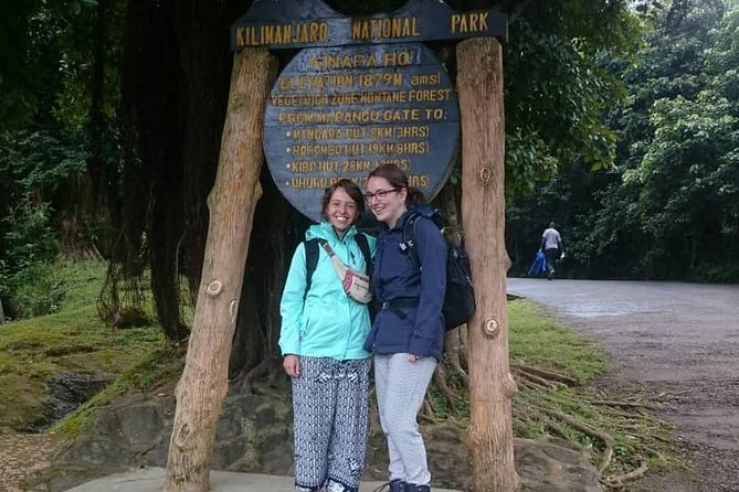 It's impossible to climb this famous highest Mount Kilimanjaro in a day, but our day trip to this majestic iconic snow-caped mountain will give you a shot to scramble up the first leg of the well-known Marangu route. On your way through the thick rainforest you will come across twittering and chattering bird life, colobus monkeys and don't forget to watch out for the curious blue Monkeys.<br>