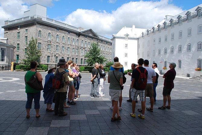 Recorrido a pie por la ciudad de Quebec, Quebec, CANADA