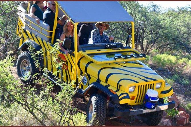 African Ambush Jeep Tour Plus Horseback Ride and Lunch in Camp Verde, Flagstaff, AZ, ESTADOS UNIDOS