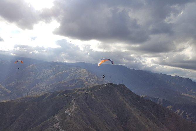 Parapente Vuelo Biplaza con instructor, Mendoza, ARGENTINA