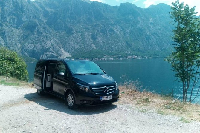 Luxury Mercedes V Class, unique in Balkans. Best price in market. English speaking driver. Travel with safety and luxury and enjoy our quality service.