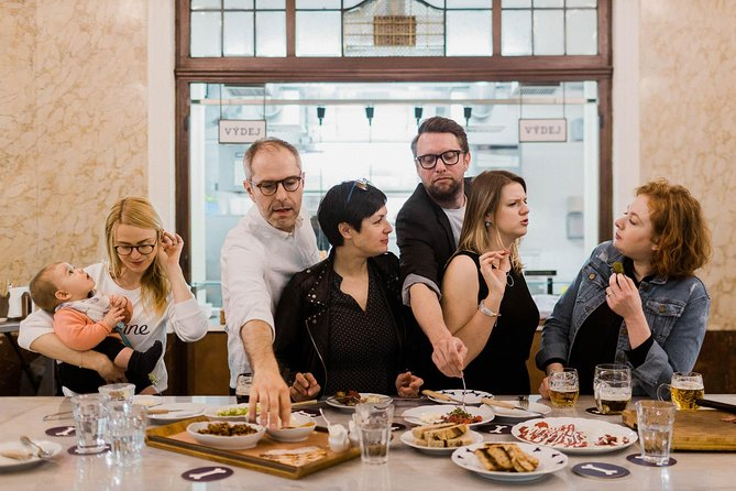 Ever since we started the first food tours in Prague back in 2011, the idea has been simple. We take you to places you would not have found by yourself. We carefully choose delicious, authentic dishes and drinks you should not miss. And in the meantime we tell you things you could not google. <br><br>We could go on through all the clichés. (Off the beaten path, traditions passed from generation to generation, hidden corners, and seasonal organic produce from local farmers? Check!) But the basic fact is that we run this on empathy. We know how precious your vacation time is, so we will not waste it on second-rate food or experience. We will treat your vacation and trip to Prague as if it were our own. <br><br>So if you want to spend a few hours in the company of well-traveled locals who will serve you must-try foods and drinks and will not resort to tourist clichés because simply our conscience would not let us (and our Czech friends and would eat us alive for it), we'll be happy to have you.