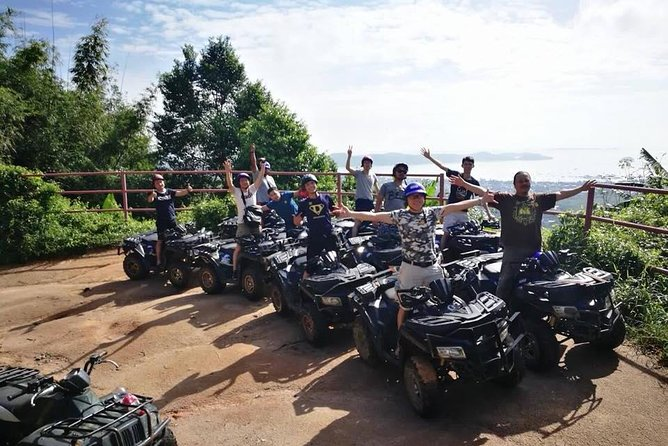 Enjoy 200 cc ATV rides at the greatest camp, located on the highest point in Phuket with fantastic views over Phuket Town, Chalong Bay. ATVs are powerful quad bikes. After basic instructions on how to control the bikes, the tour guide will take you through dirt roads in the jungle and over hilltops.