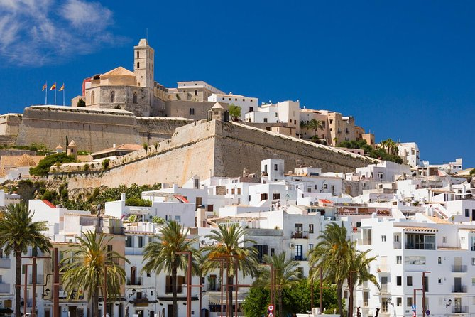 Enjoy this private tour of 4 Hours to get to know the best and most important sites of Ibiza. Ibiza is a beautiful Island, and get to know the city of Eivissa. You will enjoy an official tour guide for 4 hours as well as a luxury vehicle with chauffeur for 4 hours.