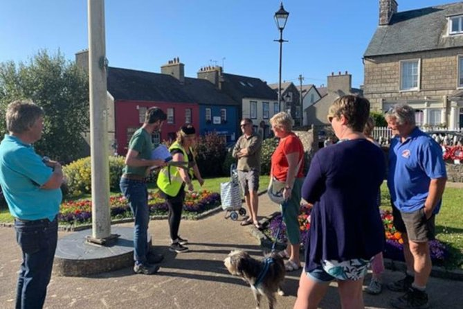 This is an original comedy walking tour, and the first of its kind in St Davids. Dry humour is mixed with slapstick as your deadpan guide, Liam, whisks you through 2,000 years of spurious local history, while Pembrokeshire-native health and safety advisor Polly (Director of St Davids Amateur Dramatics Society) ensures you have, if not the greatest experience the smallest city in Great Britain can provide, certainly the safest. For Tuesdays, either buy a ticket in advance or turn up and pay-what-you-want on the day.
