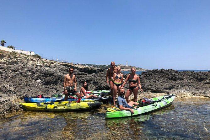 Kayak & Canoe & Snorkeling Adventure:Leuca and The Marine Caves, Lecce, Itália