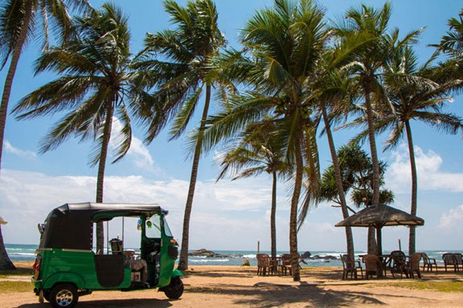 "Experience the city of Negombo by tuk-tuk. This tour visits, Negombo fish market which is very famous in Negombo, St' Maris Church, a roman catholic church in Negombo which is visited by most travelers who visits Negombo. Dutch Fort is small but important fort in Negombo that was built by Portuguese to defend Colombo. Dutch Canal formed a ""continuous line of waterways between ports and the remote sections of territory under the Dutch"" Angurukaaramulla Temple is a temple which has not been touched often by travelers. Tuk ride with the MICE Team will be thrilling and full of new experiences."