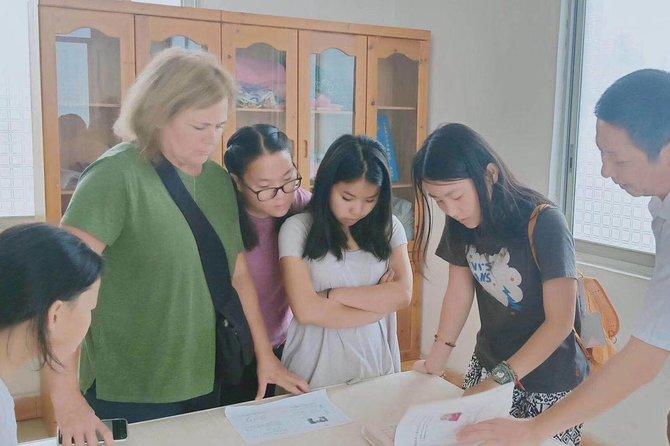 Hunan Orphanage visiting, Changsha, CHINA