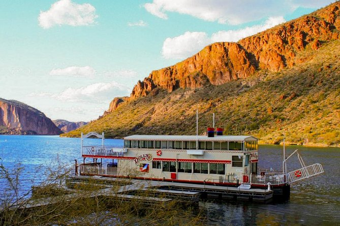 Small Group or Private Apache Trail Day with Dolly Steamboat Tour from Phoenix, ,