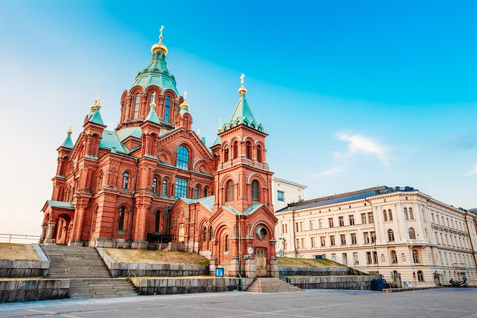 After leaving your cruise ship at Helsinki port, experience a panoramic glimpse of Helsinki, also known as 'The White City of the North' on this 3.5-hour sightseeing tour by an air-conditioned coach. Your guide will lead you through the city center, with stops for photo opportunities at the major attractions, such as the Sibelius Monument and Senate Square, and an inside visit to the Rock Church. Finally head to Central Station - the heart of Helsinki - where the tour will end, allowing about 30 minutes of shopping. You will then have the option to stay in the city for dinner or shopping or to return to the ship.