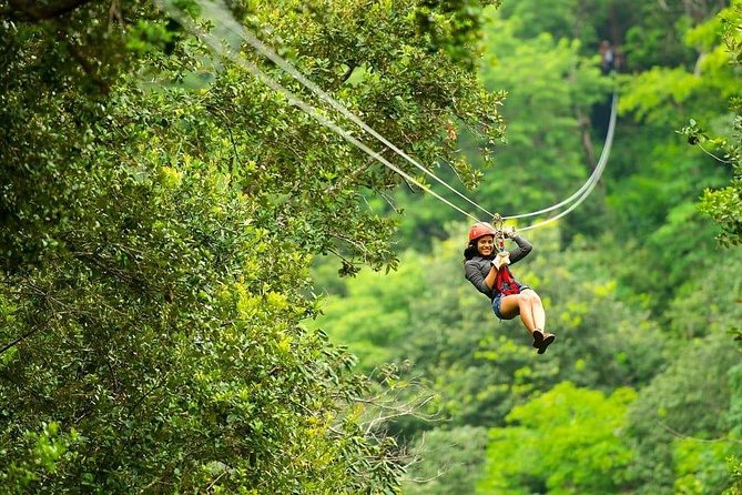 Combo Day Trip: Zipline, Hotsprings and Horseback Riding, Playa Flamingo, COSTA RICA